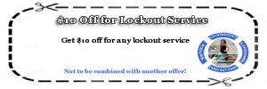 $10 off lockout coupon