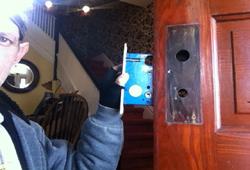 antique lock replace