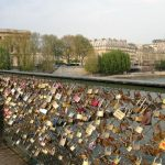 Love Lock in Paris