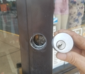 Storefront Door Lock Repair