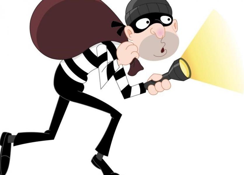 Burglar's Home Made Spare Key