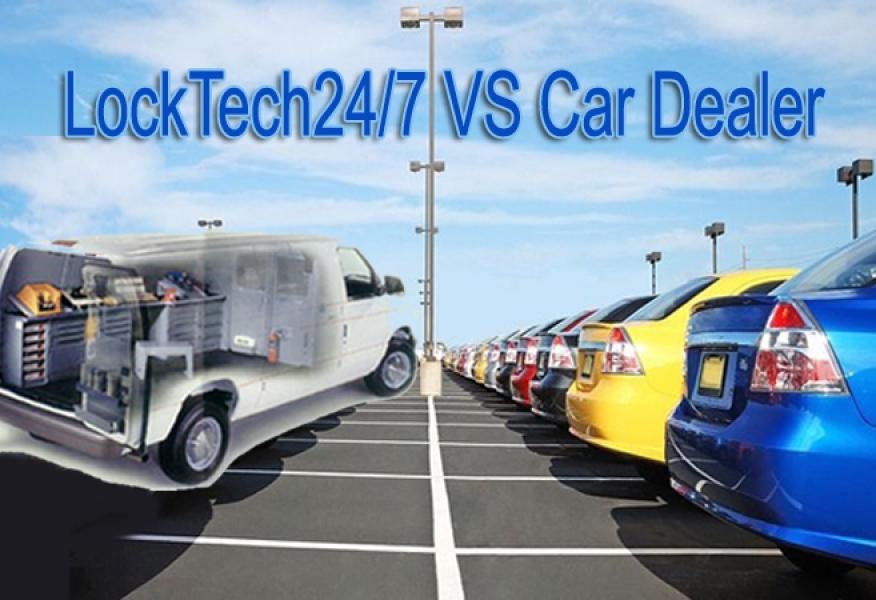 Automotive Locksmith VS Car Dealer
