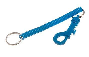 Phone Cord Spiral Belt Clip Keyring